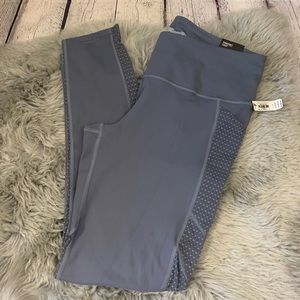 Victoria Sport Gray Mesh Knockout Tight Size Large